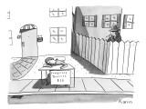 &quot;Conspiracy Theories $10&quot; - New Yorker Cartoon Premium Giclee Print by Zachary Kanin