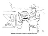 """What Hershey bar? I don't see any Hershey bar."" - New Yorker Cartoon Premium Giclee Print by Paul Noth"