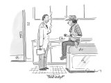 &quot;Still itchy?&quot; - New Yorker Cartoon Premium Giclee Print by Danny Shanahan