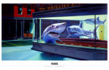 Night Sharks Masterprint by English Ron