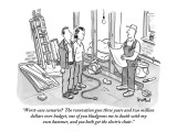 """Worst-case scenario?  The renovation goes three years and two million dol…"" - New Yorker Cartoon Premium Giclee Print by Robert Leighton"