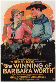 Winning of Barbara Worth Masterprint