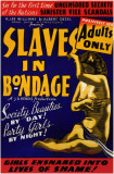 Slaves in Bondage Masterprint