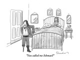 """You called me Ishmael!"" - New Yorker Cartoon Premium Giclee Print by Danny Shanahan"