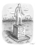"""The Man Who Never Had a Tax Mix-Up, Bungle, or Situation.""  - New Yorker Cartoon Premium Giclee Print by Roz Chast"