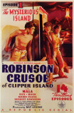 Robinson Crusoe of Clipper Island Masterprint