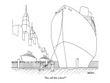 """You call this a knot?"" - New Yorker Cartoon Premium Giclee Print by Jack Ziegler"