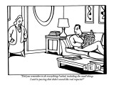 """Did you remember to do everything I asked, even the small things I said i…"" - New Yorker Cartoon Premium Giclee Print by Bruce Eric Kaplan"