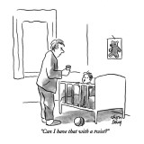 """Can I have that with a twist?"" - New Yorker Cartoon Premium Giclee Print by Chon Day"
