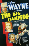 The Big Stampede Masterprint