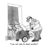 """I just can't shake the alumni newsletter."" - New Yorker Cartoon Premium Giclee Print by Gahan Wilson"