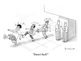 """Sousa's back!"" - New Yorker Cartoon Premium Giclee Print by David Borchart"