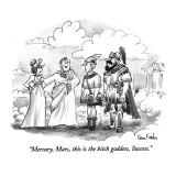 """Mercury, Mars, this is the bitch goddess, Success."" - New Yorker Cartoon Premium Giclee Print by Dana Fradon"