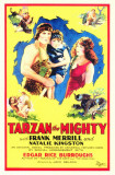 Tarzan the Mighty Masterprint