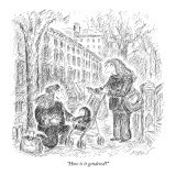 """How is it gendered?"" - New Yorker Cartoon Premium Giclee Print by Edward Koren"