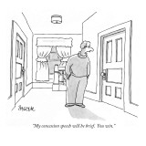 """My concession speech will be brief.  You win."" - New Yorker Cartoon Premium Giclee Print by Jack Ziegler"