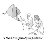 """I think I've spotted your problem."" - New Yorker Cartoon Premium Giclee Print by Gahan Wilson"