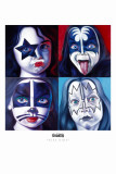 Kiss Kids Masterprint by English Ron