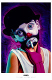 Tramp Clown Boy Masterprint by English Ron