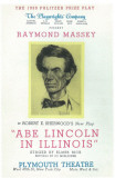 Abe Lincoln in Illionis Masterprint