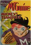 Mickey's Stampede Masterprint