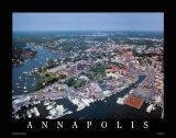 Annapolis, Maryland Affiche par Mike Smith