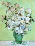 Bouquet de roses - Van Gogh Affiches par Vincent van Gogh