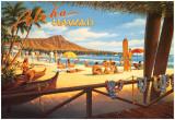 Aloha Hawaii Poster von Kerne Erickson