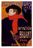 Embajadores Poster por Henri de Toulouse-Lautrec