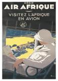 Air Afrique Kunstdrucke von A. Roquin