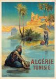 Algerie Tunisie Plakater av Louis Lessieux