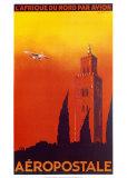 Aeropostale Afrique du Nord Kunstdrucke