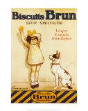 Biscotti Brun, in francese Arte di George Redon