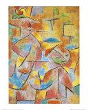 Bimba e Zia Lámina por Paul Klee