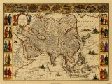 Antique Maps III Posters by Willem Janszoon Blaeu