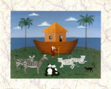 Bamboo Ark Poster by Colleen Sgroi