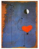 Balleriina II, n. 1925 Posters tekijänä Joan Miró