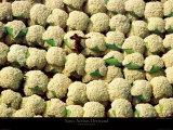 Baumwollballen, Korhogo, Elfenbeinküste Kunstdrucke von Yann Arthus-Bertrand