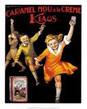 Caramel Klaus Posters by L. Bonfatti