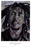 Bob Marley, mosaïque Posters
