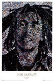 Bob Marley, Mosaik Posters