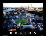 Boston - mecz gwiazd na stadionie Fenway Plakaty autor Mike Smith