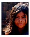Cambodian Princess Fotografie-Druck von  Manta Vision