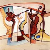 Blind Willy's, Middle Panel Poster av Gockel, Alfred