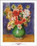 Bouquet Prints by Pierre-Auguste Renoir