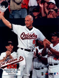 Cal Ripken, Jr. - 2632nd game (hat tip) - ©Photofile Photo