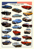Cars American Cars of Fifties Prints