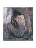 Blå nakenmodell, ca 1902 Konst av Pablo Picasso