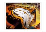 Reloj blando en el momento de su primera explosión, ca. 1954 Lámina por Salvador Dalí