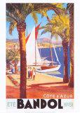 Cote Dazur Posters by E. Paul Champseix